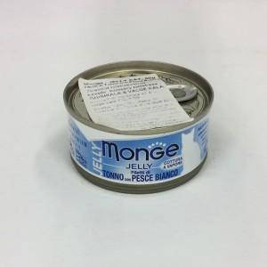 MONGE Jelly CatTuun& Valge kalafilee 80g