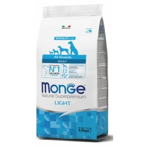 MONGE DOG BREEDER LIGHT 15kg