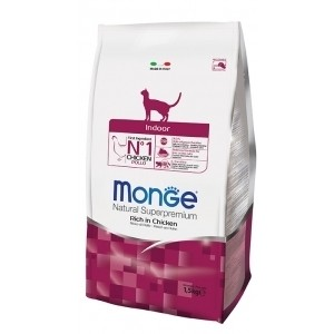 MONGE CAT INDOOR kassitoit 400g