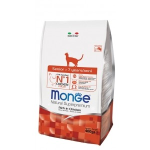 MONGE CAT SENIOR kassitoit 400g