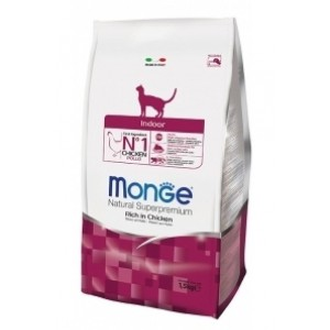 MONGE CAT INDOOR kassitoit 1,5 kg