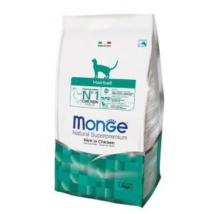 MONGE CAT HAIRBALL kassitoit 400g