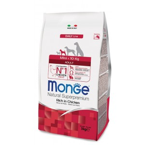 MONGE MINI DOG ADULT koeratoit KANA 800g