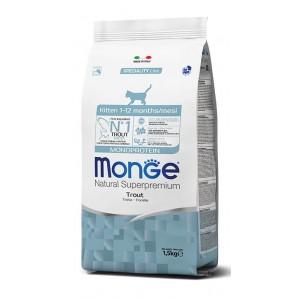 MONGE KITTEN MONOPROTEIIN forell 1,5kg