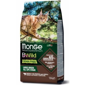 MONGE CAT BWILD BUFFALO veis 1,5kg