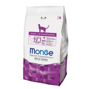 MONGE CAT ADULT kassitoit 1,5 kg