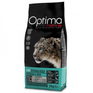 OPTIMANOVA CAT STERILISED kassitoit 2kg