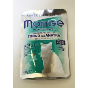 MONGE Nat.Cat Tuunikala & Part 80g kott