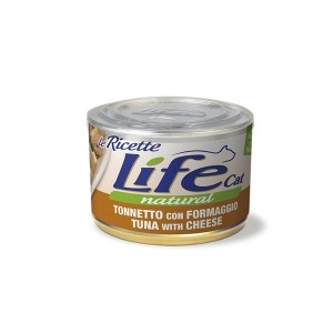 Life Cat LeRicette tuna,chees&spinat150g