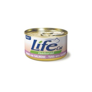 Life Cat tuunikala lõhega 85g