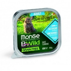 MONGE BWILD CAT Lõhe 100g