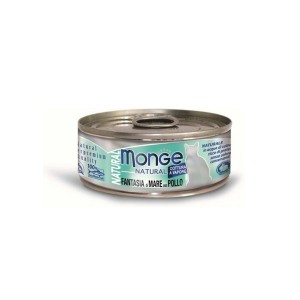 MONGE Natural Cat Mereannid & Kana 80g